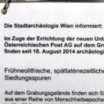 Archäologen im Großeinsatz